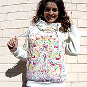 Одежда handmade. Livemaster - original item Sweatshirt