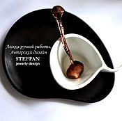 """Посуда ручной работы. Ярмарка Мастеров - ручная работа Медная ложка """"Кобра"""". Handmade."""