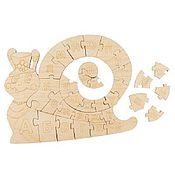 Арт. P002  Улитка-алфавит раскраска для развития творческого мышления