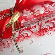 """Открытки ручной работы. Ярмарка Мастеров - ручная работа Свитки  """"Морозный узор"""" на новый год и рождество.. Handmade."""