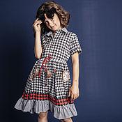 Платья ручной работы. Ярмарка Мастеров - ручная работа Платье рубашка Алиса. Handmade.