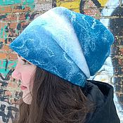 Аксессуары handmade. Livemaster - original item hat felted. Woolen hat. Warm hat women`s.. Handmade.
