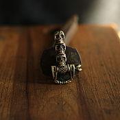 Материалы для творчества handmade. Livemaster - original item Lock for bracelet or paracord. Handmade.