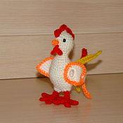 Куклы и игрушки ручной работы. Ярмарка Мастеров - ручная работа петушок. Handmade.