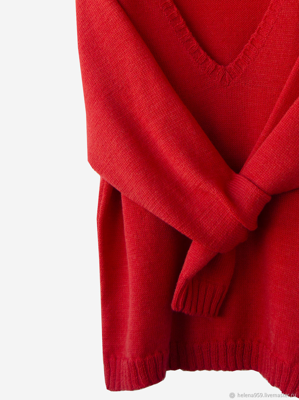 Cardigan knit with a deep V-neck, Jumpers, Ulyanovsk,  Фото №1