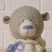 Куклы и игрушки handmade. Livemaster - original item Teddy bear Gray (18 cm). Handmade.