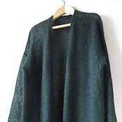 Одежда ручной работы. Ярмарка Мастеров - ручная работа кофта из мохера большого размера (52-56). Handmade.