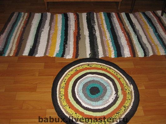 Быт ручной работы. Ярмарка Мастеров - ручная работа. Купить Комплект из 3-х ковриков. Handmade. Русский стиль