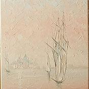 Картины и панно ручной работы. Ярмарка Мастеров - ручная работа кораблики. Handmade.