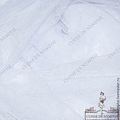 Материалы для творчества ручной работы. Ярмарка Мастеров - ручная работа Фатин стрейч, белый (white) LCR-361. Handmade.