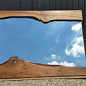 Для дома и интерьера ручной работы. Ярмарка Мастеров - ручная работа Зеркало в стиле лофт из слэбов. Handmade.