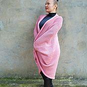 Одежда ручной работы. Ярмарка Мастеров - ручная работа Пальто вязаное 100% меринос Италия. Handmade.