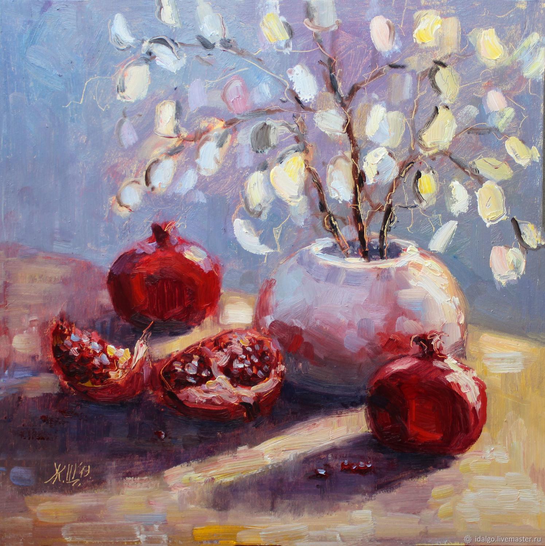Oil painting ' Pomegranates under the Moon', Pictures, Nizhny Novgorod,  Фото №1