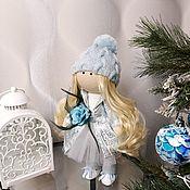 """Игрушки ручной работы. Ярмарка Мастеров - ручная работа Интерьерная кукла """"Снежинка"""". Handmade."""