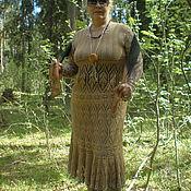 Одежда ручной работы. Ярмарка Мастеров - ручная работа Платье-туника вязаная. Handmade.