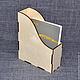 ОФ-02-003. Газетница малая. Отлично впишется в интерьер и подойдет для хранения тетрадей!