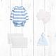 Подарки для новорожденных, ручной работы. Торт из подгузников и одежды 2 яруса (голубой). Мастерская подарков малышам и мамам (mybabygifts). Интернет-магазин Ярмарка Мастеров.