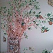Дизайн и реклама ручной работы. Ярмарка Мастеров - ручная работа Роспись стен и потолков.. Handmade.