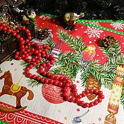 Подарки к праздникам handmade. Livemaster - original item Table textiles set with Bright holiday.. Handmade.
