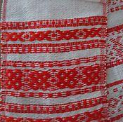 Русский стиль handmade. Livemaster - original item Homespun towel - towel No. 3. Handmade.