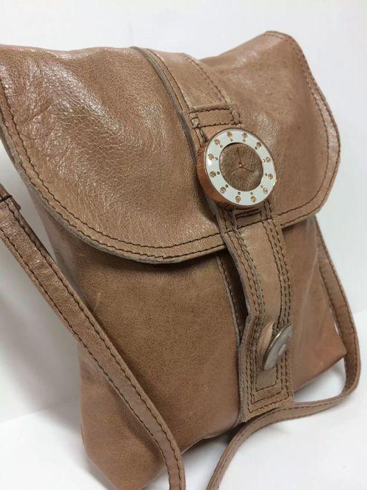 """Женские сумки ручной работы. Ярмарка Мастеров - ручная работа. Купить Маленькая сумочка через плечо! Оригинальный дизайн """"часы """"!. Handmade."""