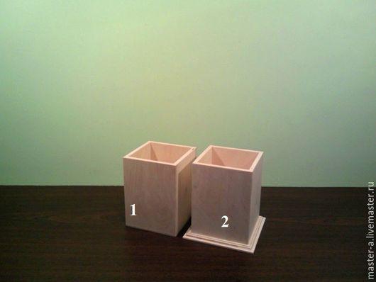 Карандашница - 1,2 - заготовка для декупажа