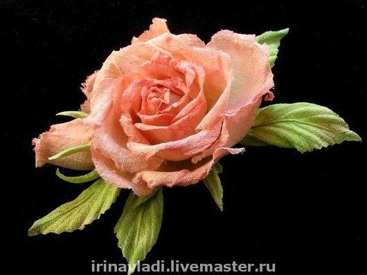 цветы из шелка,цветок из шелка брошь, брошь заколка роза,брошь шелковая роза,заколка для волос цветок,заколка для волос  роза, коралловая роза брошь, красная роза брошь, обруч для волос с цветком, обр