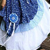 """Одежда ручной работы. Ярмарка Мастеров - ручная работа -12%Юбочка летняя """"Василек"""". Handmade."""