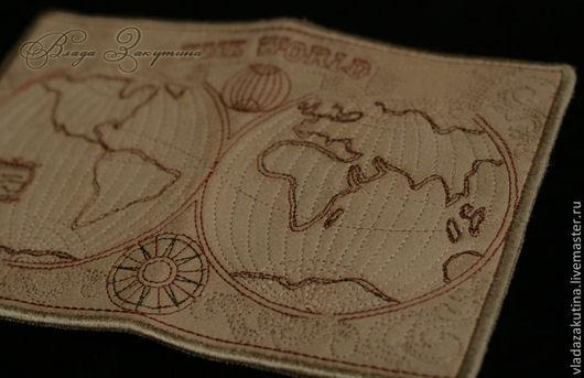 Обложки ручной работы. Ярмарка Мастеров - ручная работа. Купить Обложка на паспорт. Handmade. Бежевый, обложка на паспорт, светло-коричневый