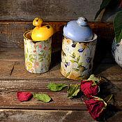 Для дома и интерьера handmade. Livemaster - original item Pots Provence. Handmade.