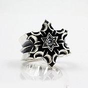 """Украшения handmade. Livemaster - original item Ring """"Immovable star"""" of silver 925. Handmade."""