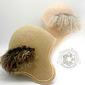 Для дома и интерьера handmade. Livemaster - original item Hat for the bath