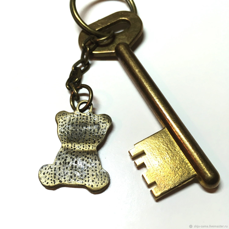 """Брелок для ключей """"Мишка"""", брелок для сумки"""