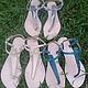 Обувь ручной работы. Ярмарка Мастеров - ручная работа. Купить Сандалии из питона. Handmade. Серый, босоножки, кожа питона