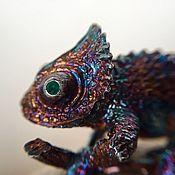 """Украшения ручной работы. Ярмарка Мастеров - ручная работа Кольцо : """"Хамелеон """". Handmade."""