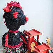 Куклы и игрушки ручной работы. Ярмарка Мастеров - ручная работа медведь игрушка тедди Манон. Handmade.