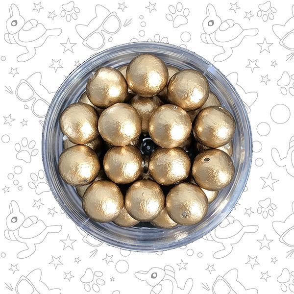 Жемчуг хлопковый Gold 8 мм, Бусины, Москва,  Фото №1