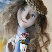 Куклы и игрушки ручной работы. Ярмарка Мастеров - ручная работа Небесный ангел с цветком. Handmade.