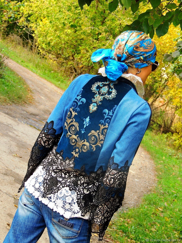 Jacket in BOHO style (№360), Suit Jackets, Odessa,  Фото №1