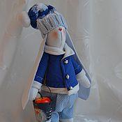 Куклы и игрушки ручной работы. Ярмарка Мастеров - ручная работа Новогодний зайка 2017г. Handmade.