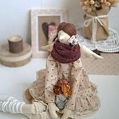 Куклы и игрушки handmade. Livemaster - original item Dolls Tilda: Angel with a watering pot. Handmade.