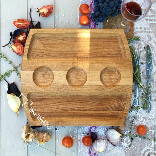 Декоративная посуда ручной работы. Ярмарка Мастеров - ручная работа. Купить АРТ №51. Handmade. Доски для подачи, деревянная подставка