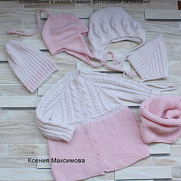 Clothing handmade. Livemaster - original item Cardigan Little Lady size 80. Handmade.