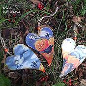 Подарки к праздникам ручной работы. Ярмарка Мастеров - ручная работа Хэллоуин, сердечки. Handmade.