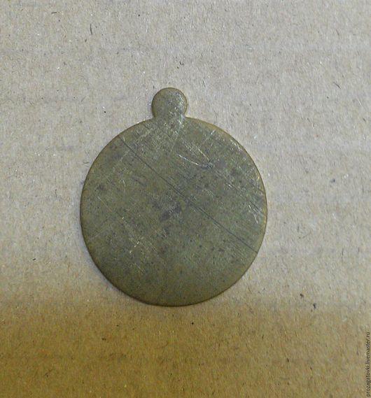 Латунь 24х1,5, мм, заготовка круглая, естественная патина Л2415-1П