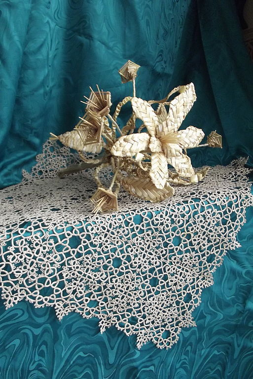 Easter Gifts handmade. Livemaster - handmade. Buy Doily tatting 'lace-tale'.Tatting, exclusive gift, lace