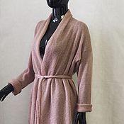Одежда ручной работы. Ярмарка Мастеров - ручная работа Кардиган вязаный из кид-мохера на шелке. Handmade.