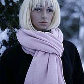 Аксессуары handmade. Livemaster - original item Sakura stole scarf made of 100% combed cashmere. Handmade.