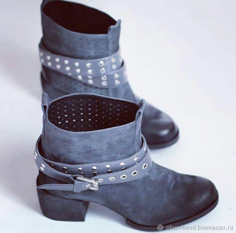 Обувь ручной работы. Ярмарка Мастеров - ручная работа. Купить Ботинки ручной работы. Handmade. Обувь ручной работы