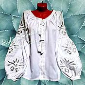 Одежда handmade. Livemaster - original item Blouse made of linen